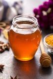 蜂甜蜂蜜产品  库存照片