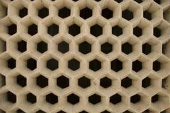 蜂窝喜欢结构 免版税图库摄影