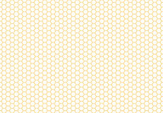 蜂窝无缝的背景 简单的无缝的样式 库存图片