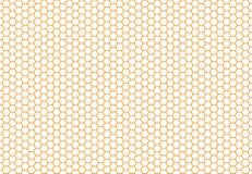 蜂窝无缝的背景 简单的无缝的样式 库存照片