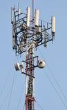 蜂窝电话发射机 免版税库存照片