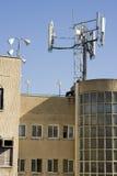蜂窝电话的天线 免版税库存照片
