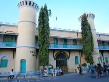 蜂窝电话监狱 库存照片