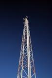 蜂窝电话结霜的塔 免版税库存照片