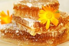 蜂蜜金字塔 库存图片