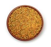 蜂粒子花粉 免版税库存照片