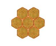 蜂粒子花粉 免版税库存图片