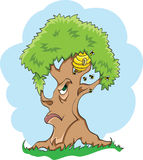 蜂结构树 免版税图库摄影
