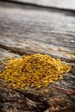 蜂花粉堆 免版税库存图片