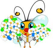 蜂花 库存例证