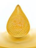 蜂蜜下落 免版税库存照片
