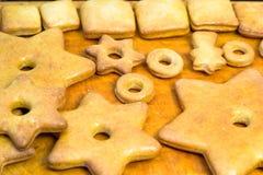 蜂蜜姜饼 免版税库存照片