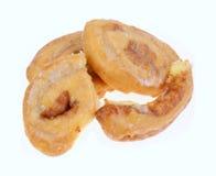 蜂蜜小圆面包组 免版税库存图片