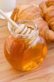 蜂蜜早餐 免版税库存照片