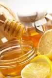 蜂蜜柠檬 库存照片