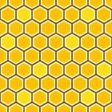 蜂蜜梳子五颜六色的样式 向量例证