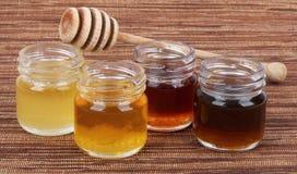 蜂蜜混合口味 库存照片