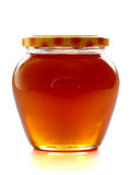 蜂蜜瓶子 库存照片