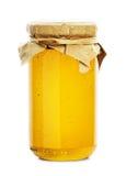 蜂蜜瓶子 图库摄影