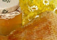 蜂蜜甜点 免版税库存图片