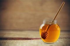 蜂蜜糖浆 库存图片