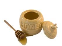 蜂蜜罐 免版税库存图片