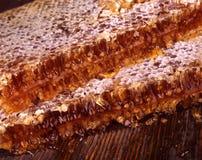 蜂蜜蜂窝 免版税图库摄影
