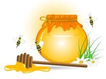 蜂蜜 向量例证