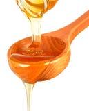 水滴蜂蜜 免版税库存图片