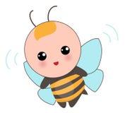 蜂衣服的婴孩 免版税库存照片