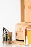 养蜂设备 免版税库存图片