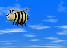 蜂飞行 向量例证