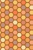蜂细胞样式 库存例证