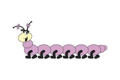 蜈蚣微笑 免版税库存照片