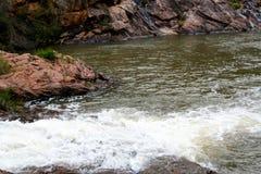 蜒蜒秋天和国立公园 免版税库存图片