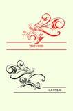 蜻蜓标签 免版税库存图片