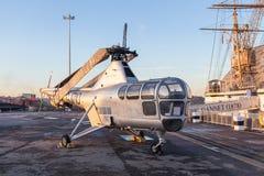 蜻蜓HR 3个WG751直升机 免版税图库摄影