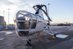 蜻蜓HR 3个WG751直升机 免版税库存照片