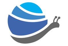 蜗牛商标概念传染媒介dsign 皇族释放例证