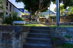 蜗牛海湾海滨公园在Birchgrove悉尼 免版税图库摄影