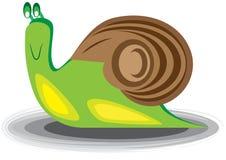 蜗牛的例证 库存图片