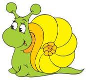 蜗牛(向量夹子艺术) 库存图片