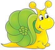蜗牛 皇族释放例证