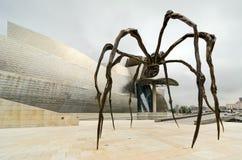 蜘蛛。毕尔巴鄂 免版税库存照片