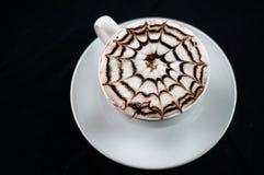 蜘蛛咖啡 免版税图库摄影