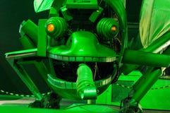 蜘蛛喜欢机器人臭虫 免版税库存照片