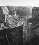 蜘蛛岩石, Canyon De Chelly,亚利桑那 库存图片