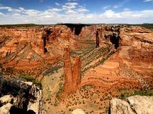 蜘蛛Rock- Canyon de Chelly 免版税库存照片