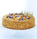 蜜糕用莓果 免版税图库摄影