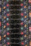 蜡染布做马来西亚纹理 库存图片